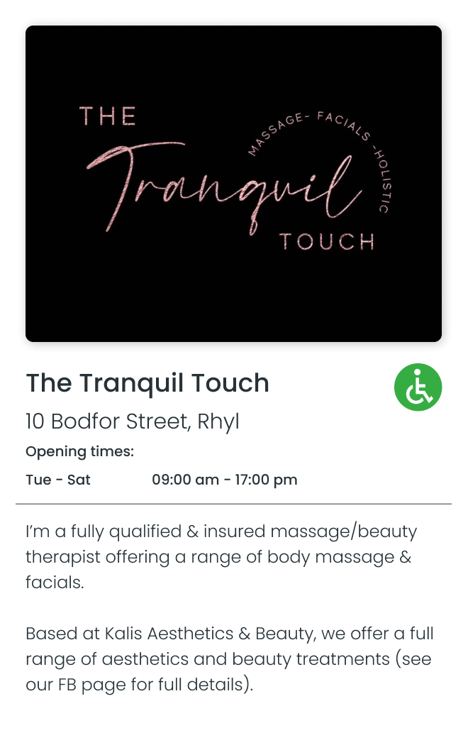 The Tranquil Touch